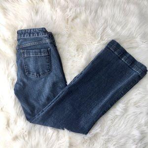 J Crew Stretch Straight Leg Jeans Sz 0